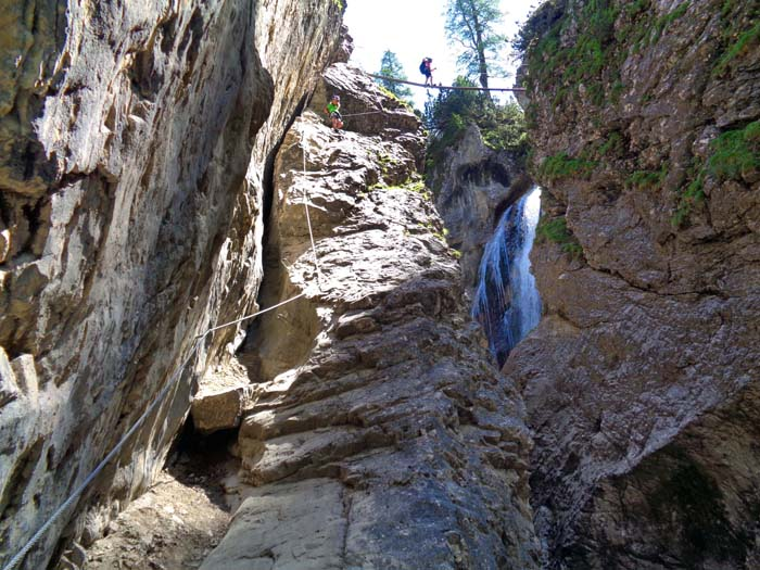 Klettersteig Verborgene Welt : Klettersteig u201everborgene weltu201c c d