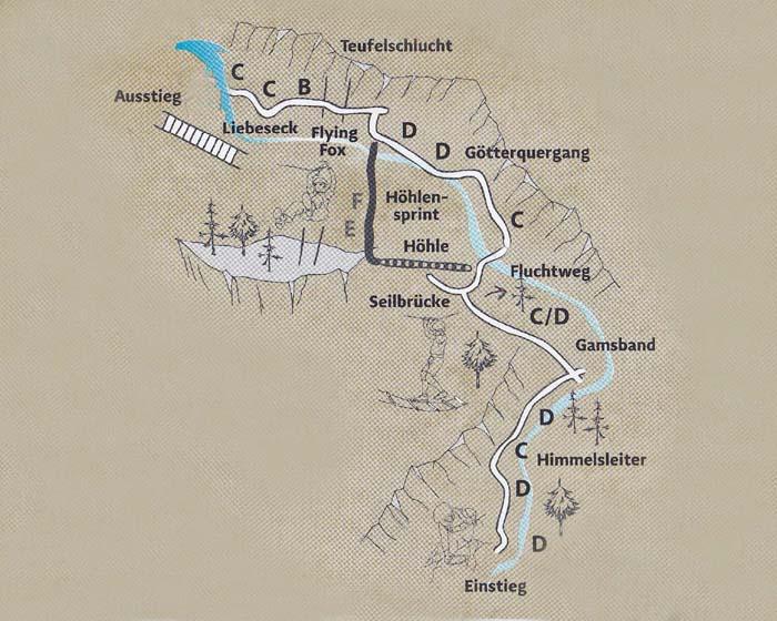 Klettersteig Osttirol : Kitzlochklamm klettersteig goldberggruppe