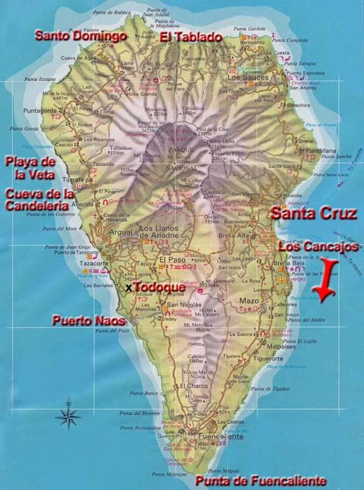 La Palma Rund Um Die Insel Kanarische Inseln Spanien
