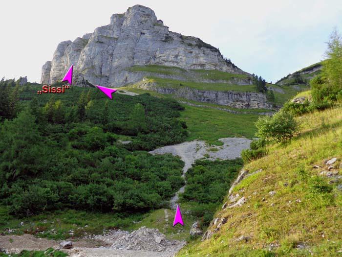 Klettersteig Loser : Sisi klettersteig loser altaussee