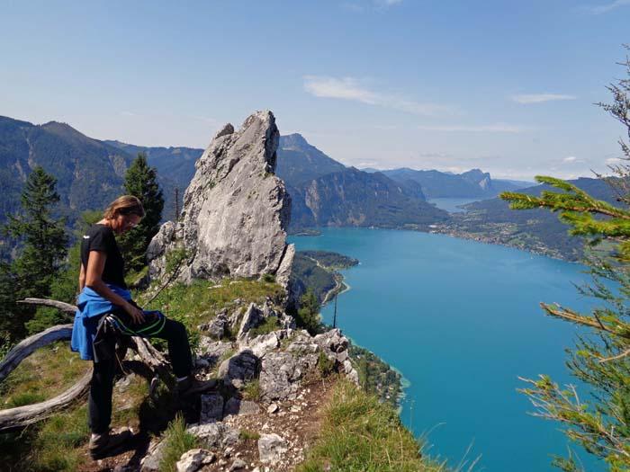 Klettersteig Mahdlgupf : Mahdlgupf u201eattersee klettersteigu201c d höllengebirge