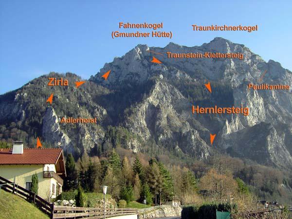 Klettersteig Traunstein : Traunstein zirla oberösterreichische voralpen